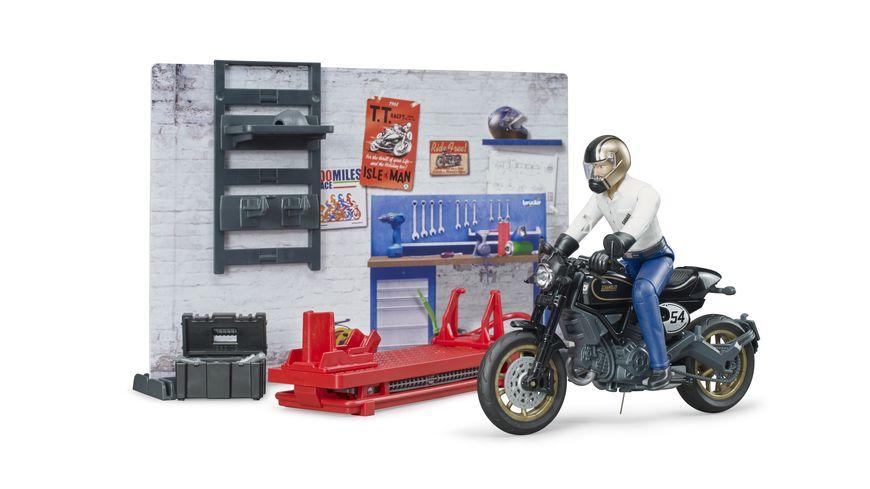 BRUDER Motorradwerkstatt 62101