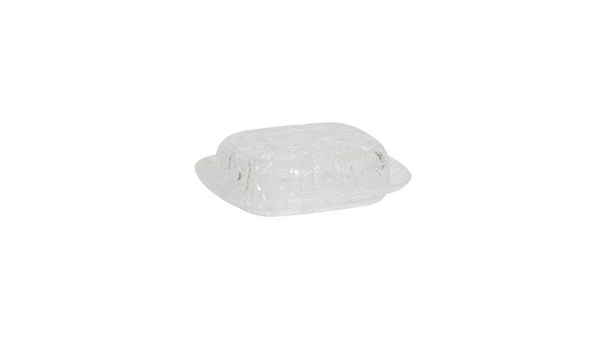 TESTRUT Butterdose kristalloptik