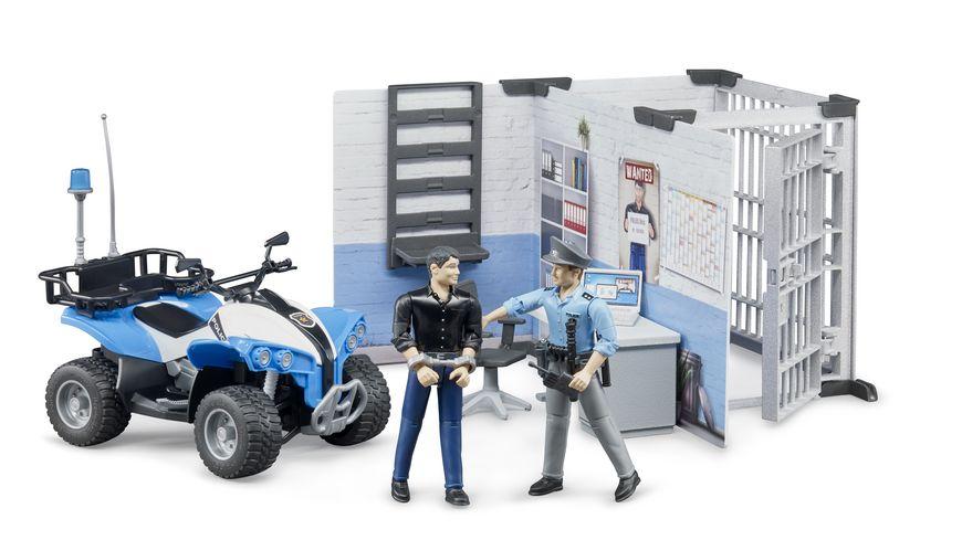 BRUDER Polizeistation bworld 62730