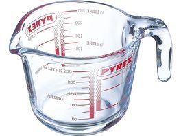 PYREX Messbecher aus Glas 0 25l