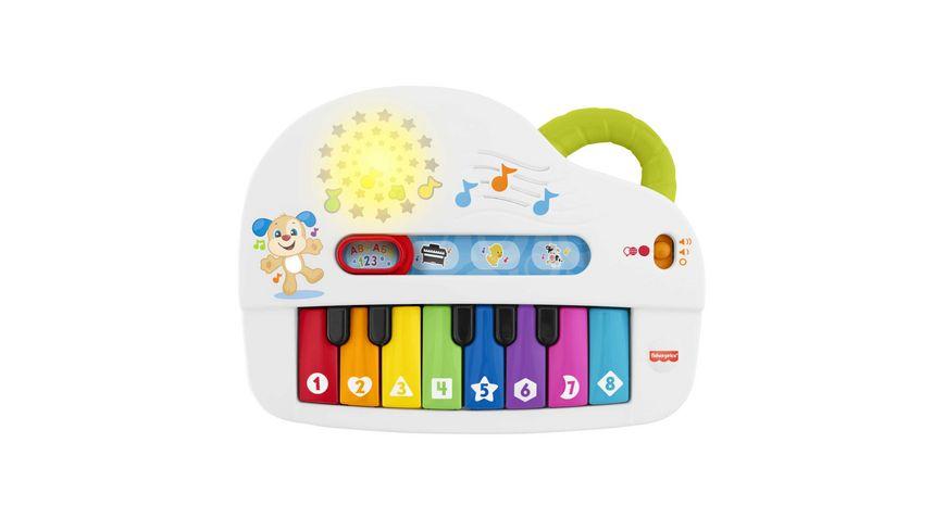 Fisher-Price Babys erstes Keyboard, Lernspielzeug, Baby Musik-Instrument