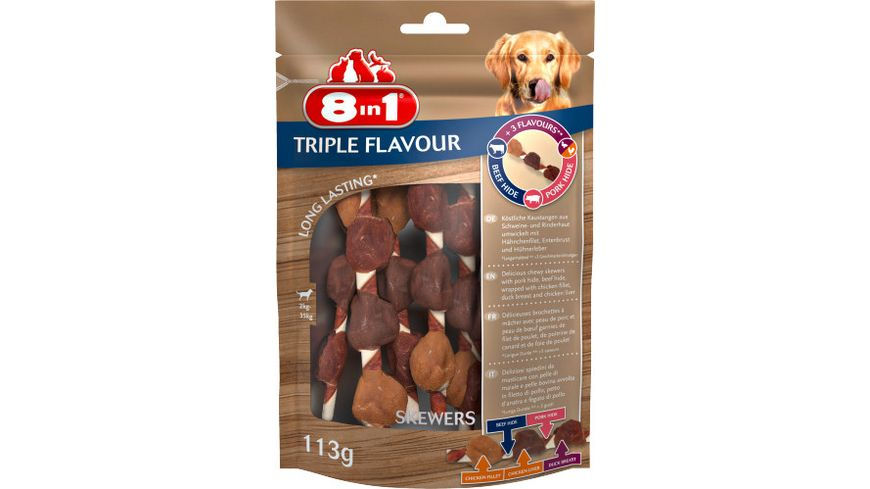 8in1 Triple Flavour Skewers 6 Stueck