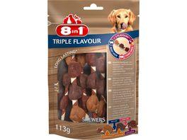8in1 Triple Flavour Skewers 6 Stueck