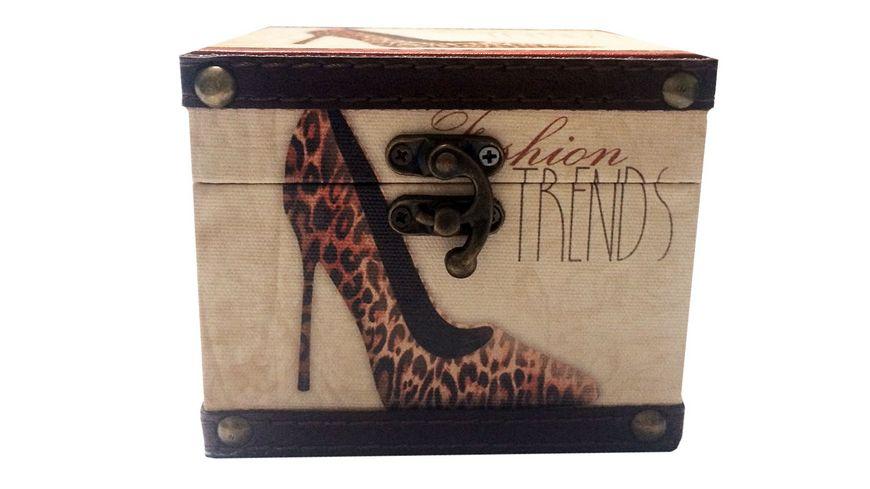 Holzbox mit Clip High Heel