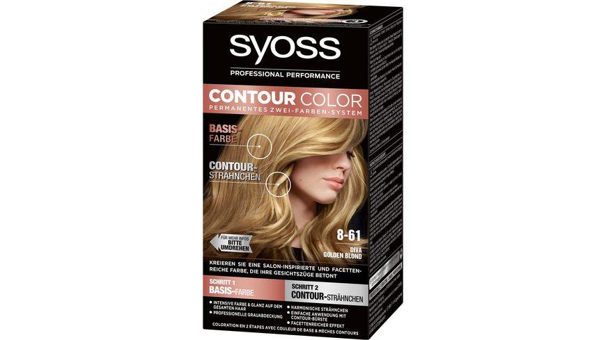 syoss Contour Color 8 61 Diva Goldblond