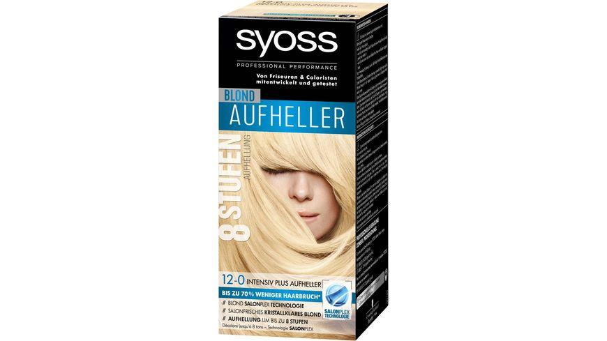syoss Coloration 12 0 Intensiv Plus Aufheller