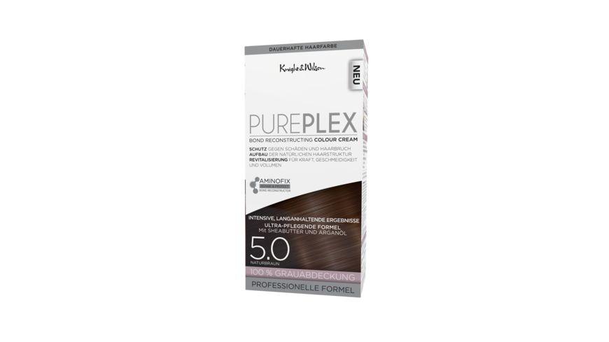 PUREPLEX COLORATION Naturbraun dauerhafte Haarfarbe