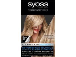syoss Blond Set H2 Straehnchen Set