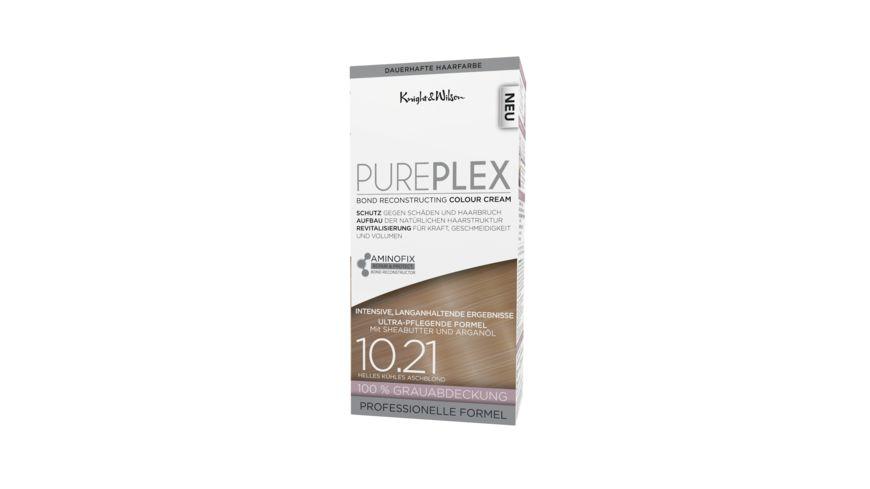 PUREPLEX COLORATION Helles Kuehles Aschblond dauerhafte Haarfarbe
