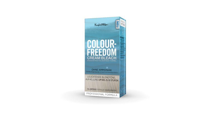 COLOUR FREEDOM CREAM BLEACH Blondierung helles blond