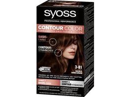 syoss Contour Color 3 81 Queen B Dunkelbraun
