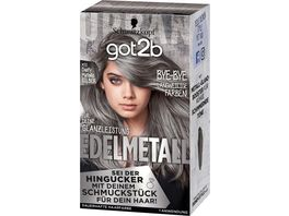 Schwarzkopf got2b Edelmetall Dusty Metallic Silber M72
