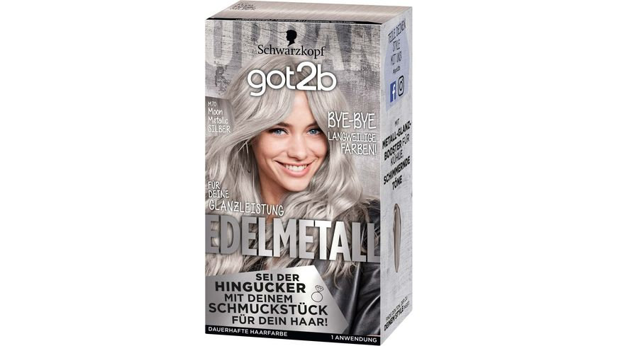 Schwarzkopf got2b Edelmetall Moon Metallic Silber M70