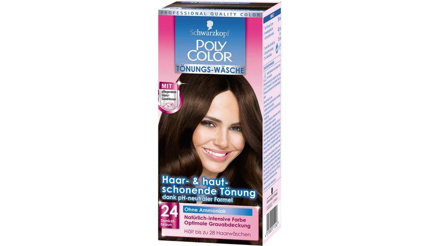 Schwarzkopf Poly Color Creme Haarfarbe Tönung 24 Dunkelbraun Online