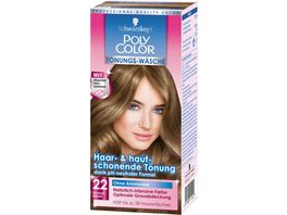 Schwarzkopf POLY COLOR CREME HAARFARBE Toenung 22 Dunkelblond