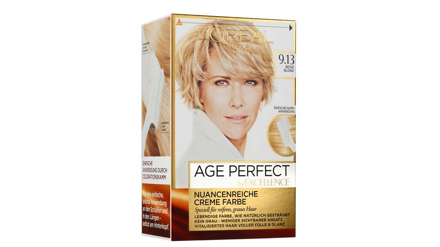 L OREAL PARIS Excellence Age Perfect 9 13 Beige Blond