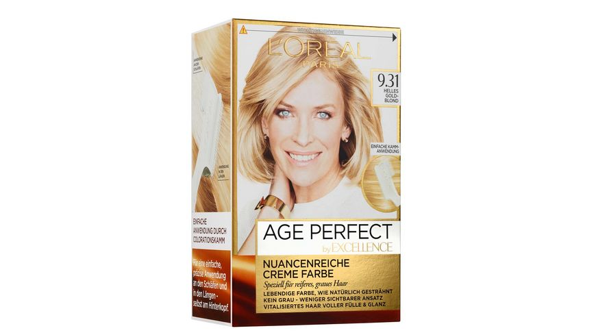 L OREAL PARIS Excellence Age Perfect 9 31 Helles Goldblond