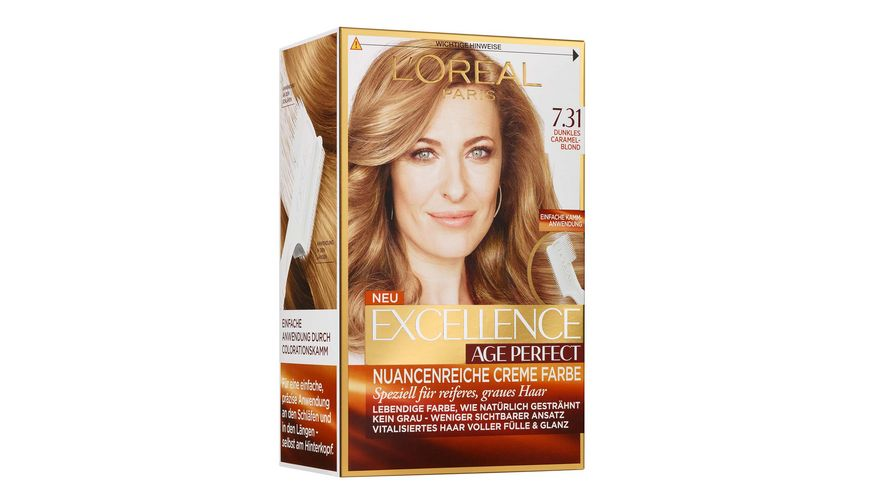 L OREAL PARIS Excellence Age Perfect 7 31 Dunkles Caramelblond