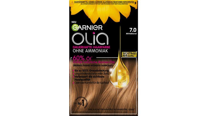 GARNIER Olia dauerhafte Haarfarbe Nr 7 0 Mittelblond