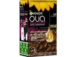 GARNIER Olia dauerhafte Haarfarbe Nr 6 3 Karamellbraun
