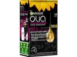 GARNIER Olia dauerhafte Haarfarbe Nr 1 0 Schwarz