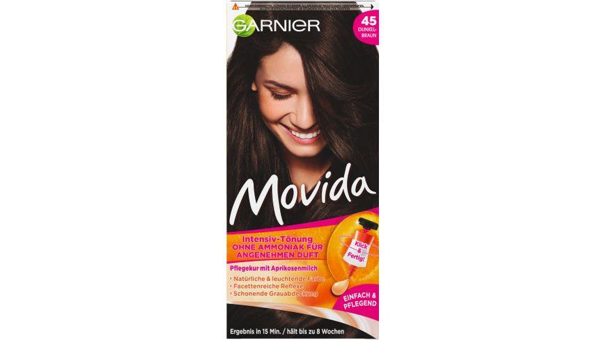 GARNIER Movida Intensiv Toenung ohne Ammoniak Nr 45 Dunkelbraun