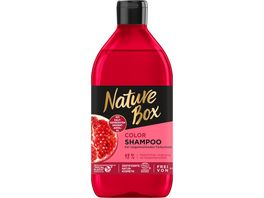 NATURE BOX Color Shampoo Granatapfel Oel