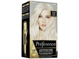 L OREAL PARIS Preference 11 11 Ultra Helles Kuehles Kristall Blond Island