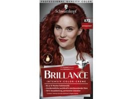 Schwarzkopf BRILLANCE Intensiv Color Creme 872 Intensivrot