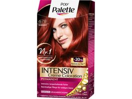 Schwarzkopf POLY PALETTE Intensiv Creme Coloration 678 Rubinrot