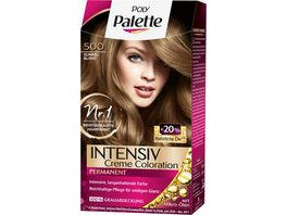 Schwarzkopf POLY PALETTE Intensiv Creme Coloration 500 Dunkelblond