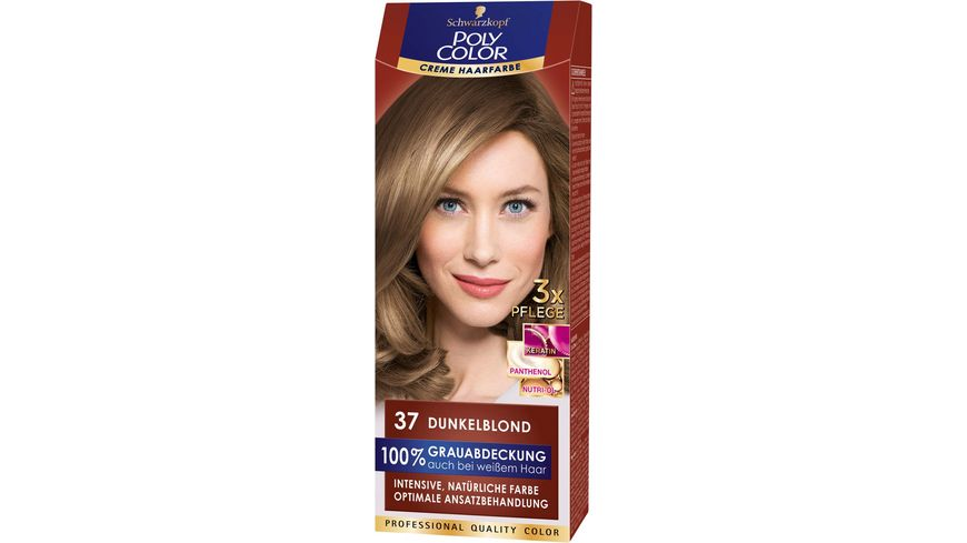 Schwarzkopf POLY COLOR CREME HAARFARBE Coloration 37 Dunkelblond