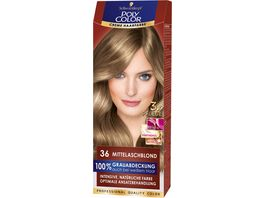 Schwarzkopf POLY COLOR CREME HAARFARBE Coloration 36 Mittelaschblond