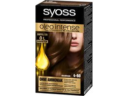 syoss Oleo Intense Permanente Oel Coloration 4 60 Goldbraun