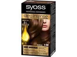 syoss Oleo Intense Permanente Oel Coloration 4 60 Goldbraun