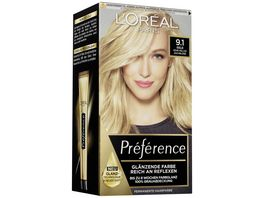 L OREAL PARIS Preference 9 1 Sehr Helles Aschblond Oslo