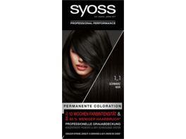 syoss Coloration 1 1 Schwarz