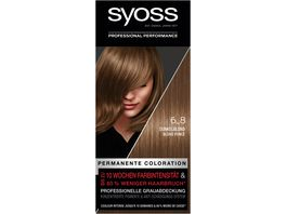 syoss Coloration 6 8 Dunkelblond