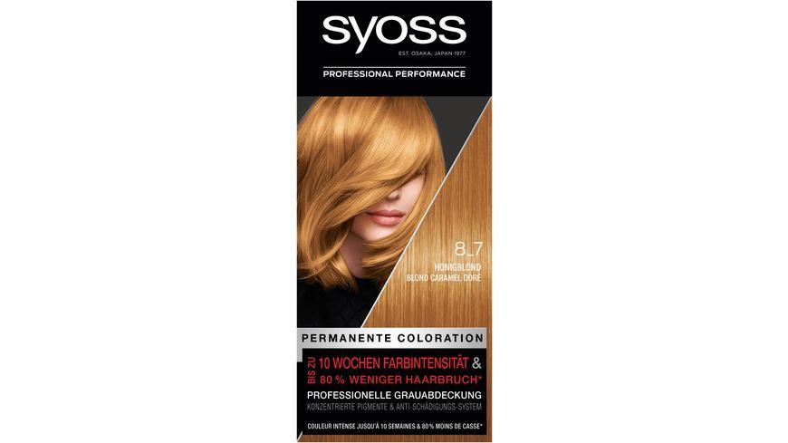 syoss Coloration 8-7 Honigblond