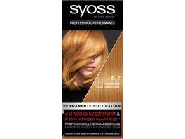 syoss Coloration 8 7 Honigblond