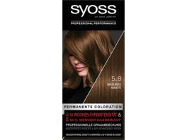 syoss Coloration 5 8 Haselnuss