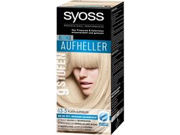 syoss Coloration 13 5 Platin Aufheller