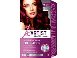 ARTIST Professional Intensiv Creme Coloration kirschrot 45