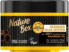 Nature Box Naehrende Haar Butter Macadamia Oel