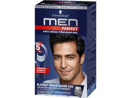 Schwarzkopf MEN PERFECT Toenungs Gel 90 Natur Schwarz