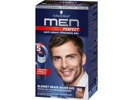 Schwarzkopf MEN PERFECT Toenungs Gel 70 Natur Dunkelbraun