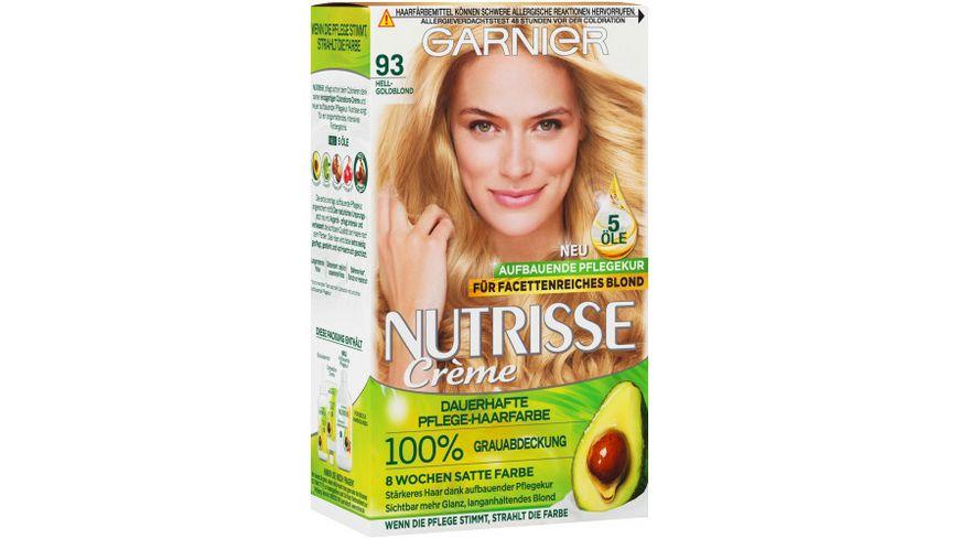 GARNIER Nutrisse Creme dauerhafte Pflege-Haarfarbe Nr. 9