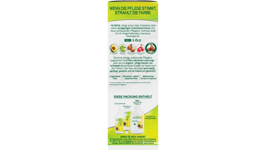GARNIER Nutrisse Creme dauerhafte Pflege Haarfarbe Nr 8N Nude Natuerliches Blond