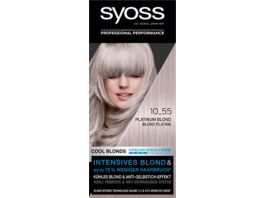 syoss Cool Blonds 10 55 Platinum Blond