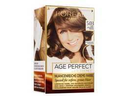 L OREAL PARIS Excellence Age Perfect 5 03 Zart Goldenes Braun